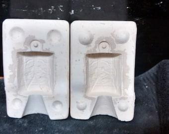 E.S. Molds #1207 Drum Christmas ornament ceramic mold