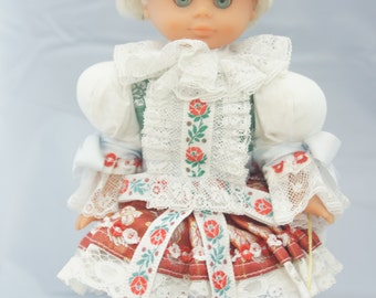 Lovely Blonde Haired Blue Eyed Doll from the former Czechoslovakia