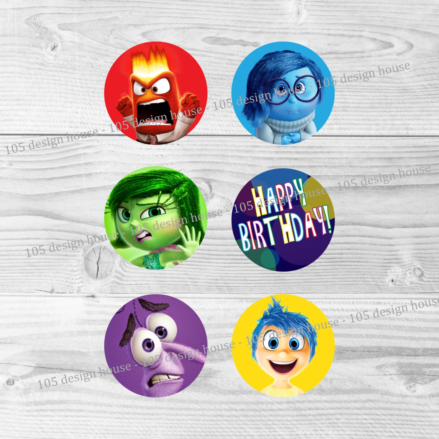 It's just an image of Agile Inside Out Cupcake Toppers