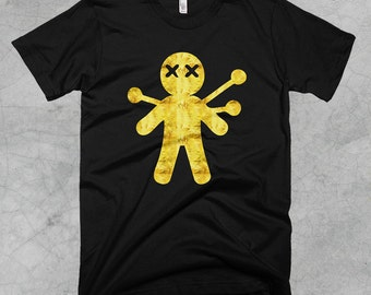 Golden Voodoo Doll T-Shirt - FREE SHIPPING on all US orders