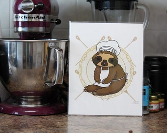 The original Slow Cooker 8x10 print