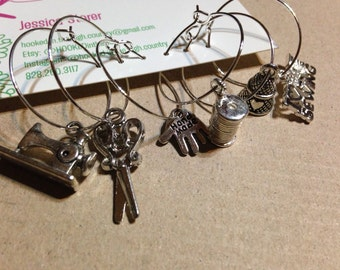 Sewing quilting wine charms set