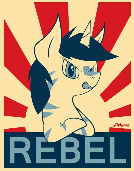 Rebel Pony Poster Print