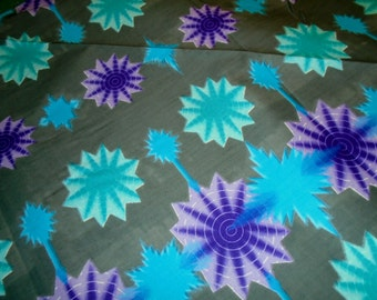 1/2 Yard Cut -  Wax Print -  Cotton fabric