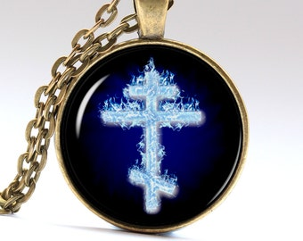 Orthodox pendant Byzantine Necklace  Russian Jewelry Orthodox Necklace Orthodox Jewelry Byzantine Jewelry Byzantine Pendant LG037
