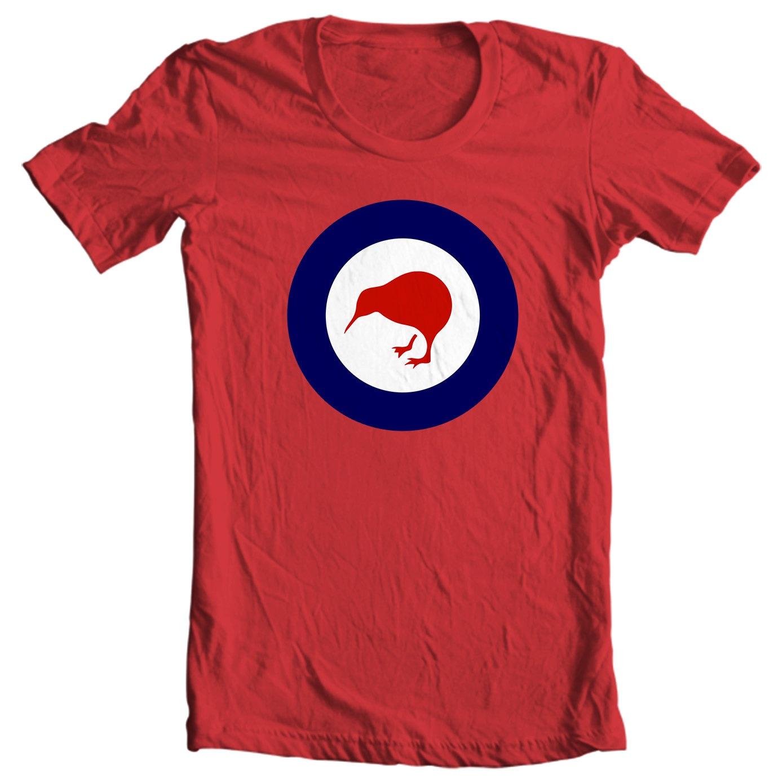 New Zealand Roundel - RNZAF Kiwi Bird T-shirt