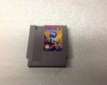 NES Lolo 2 Games Cartridge-Used