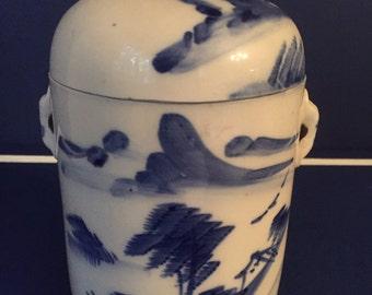 Vintage Asian Baking Jar