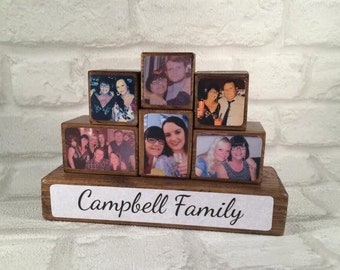Photo Stacking Blocks / Photo Blocks - Family