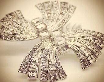 Stunning Art Deco bridal headpiece