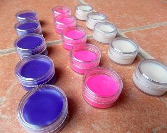 Raw Beeswax Lip Balm - Natural Lip balm - Handmade lip balm