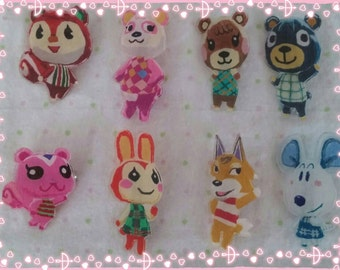Animal Crossing Villager Pins ~PICK ONE~