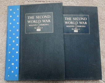 The Second World Way By Winston S. Churchill and The Editors of LIFE Volumes One and Two 1960
