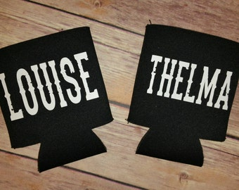 Thelma and Louise - Set of 2 Can Cooler