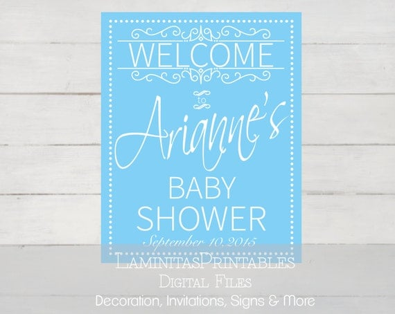 baby shower welcome sign boy baby shower baby shower printables