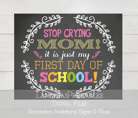 how to stop yourself from crying at school