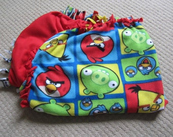 Homemade Fleece Blanket