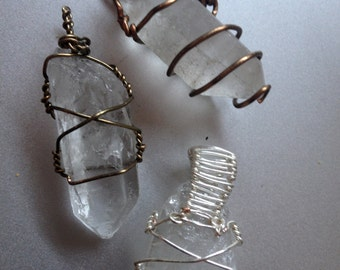 Quartz wire wrap