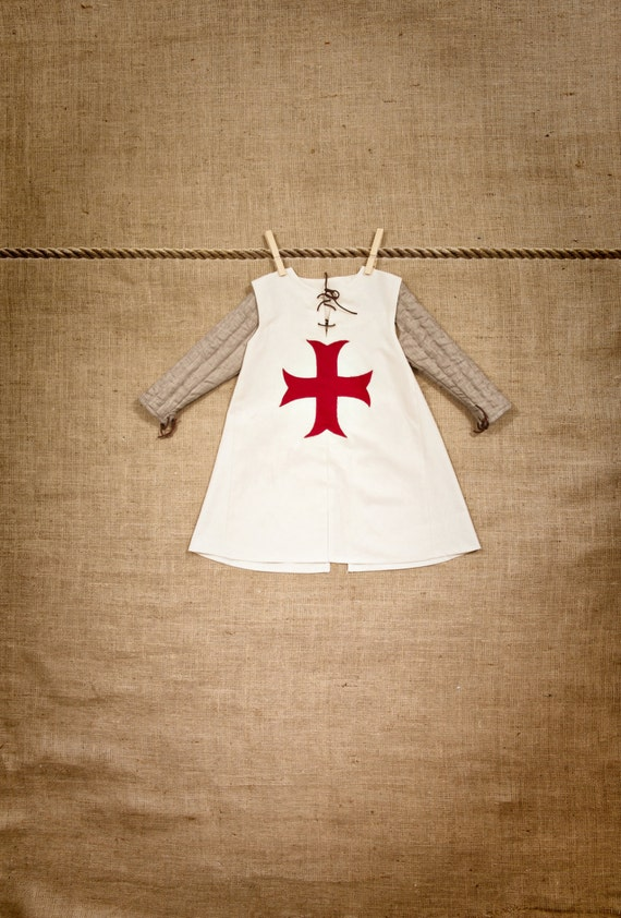 Luxury TUNIC of Knight Templar Costume