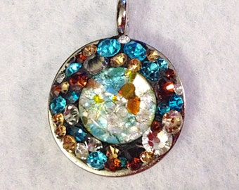 Earth and Water Pendant