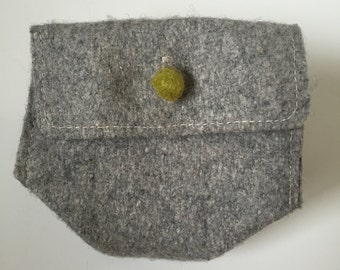 Green Pea Coin Purse