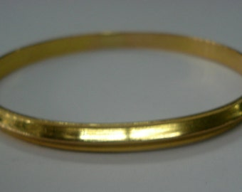 20k gold bangle bracelet sikh kada handmade jewelry india
