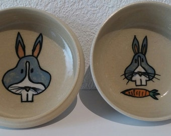Rabbit porringer