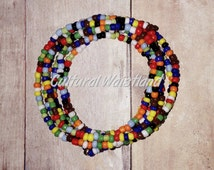 Waist Beads | Belly Beads | African Inspired | Belly Chains | Red, Lime Green, Orange Yellow, Light Blue, Dark Blue, Black