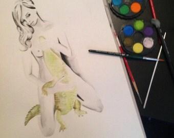 Illustration: Bewildering creature
