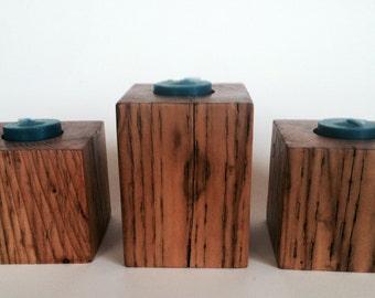 Three Block Tealight Holder
