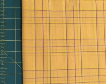 Yellow & Purple Plaid