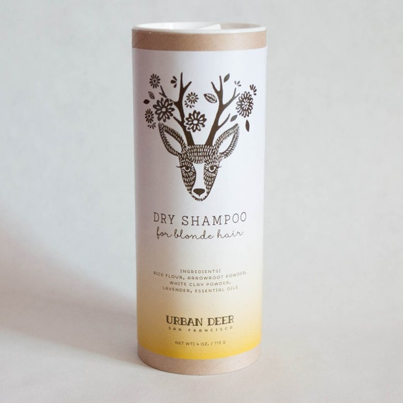 Dry Shampoo Powder for Blonde Hair Organic Perfect for