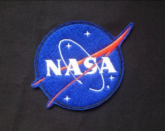 Nasa Space Embroidered Patch Badge Iron on or sew