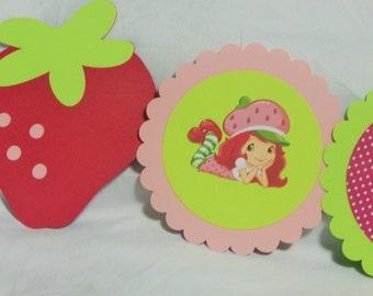 Strawberry Shortcake Inspired Banner