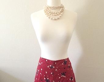 Mod style short skirt