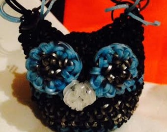 Dark and Frozen Stuffed Owl