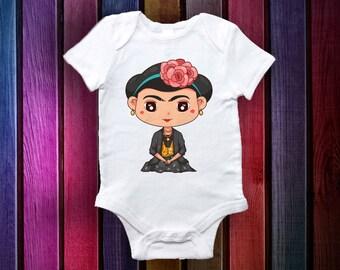 Frida Onesie - Baby Gifts- Baby Onesie-Original and Unique