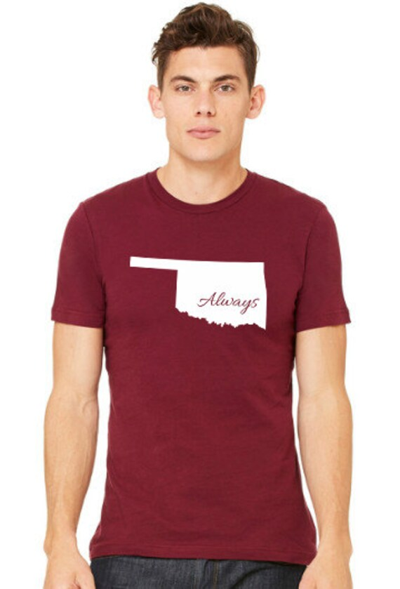 oklahoma always custom t shirt by livespireapparel on etsy