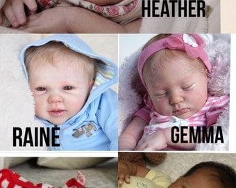 Custom reborn babies or gift certificate.