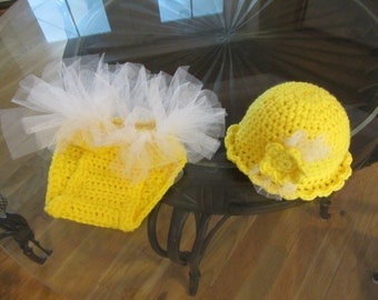 Tutu and Hat for Baby