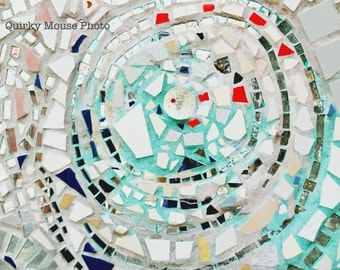 Instant Digital Download Mirror Mosaic Photography Color Photography Still Life Fine Arts Upcycled Art