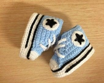 Crochet baby shoes, Baby booties, Handmade baby shoes,baby converse,shoes for babys,baby boy shoes,baby girl shoes,  Scarpine, Uncinetto
