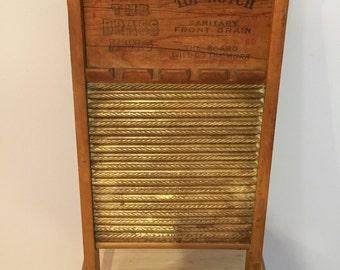 The Brass King Wash Board