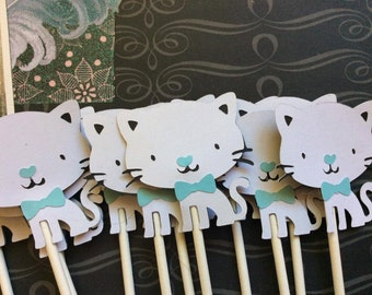 12 Prince the Cat Cupcake toppers