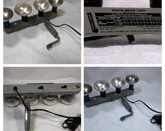 Argus 4 Bulb Movie Light Bar Model 41091