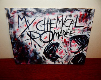 My Chemical Romance Acrylic Painting