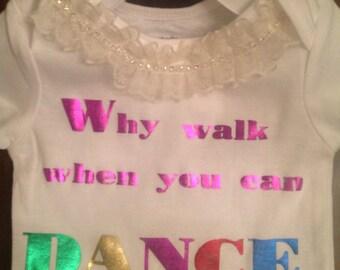 Metallic Dance Shirt