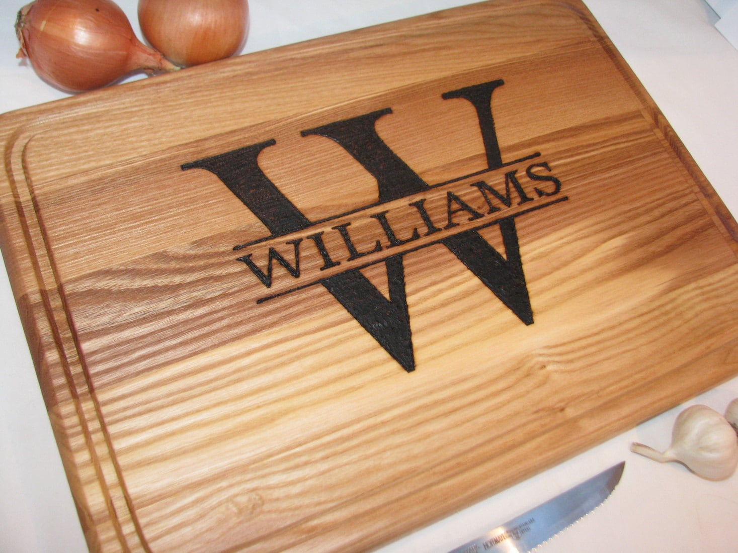 Personalized Cutting Board Christmas Gift Custom By Vnvbrowood