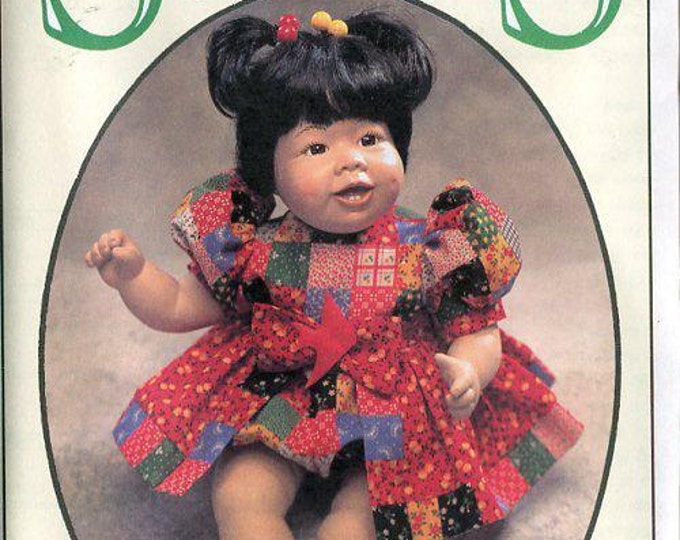 FREE US SHIP Syndee's Craft Ltd 1995 Doll's Playtime Pattern 10 16 21 Old Store Stock Sewing Pattern 240012 All Sizes
