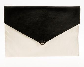 Chloe Leather Envelope Clutch